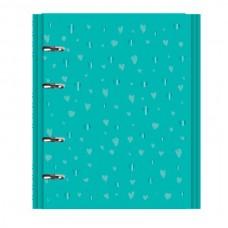 Caderno Argolado Romantic Verde