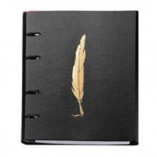 Caderno Argolado Noir