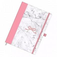 Caderno Otima Pink Stone Papertalk Marmore