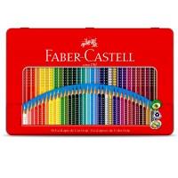 Lapis de cor Faber Castell c/36 Cores Lata