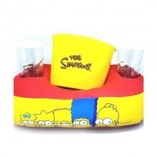Kit Almofada Porta Pipoca Simpsons